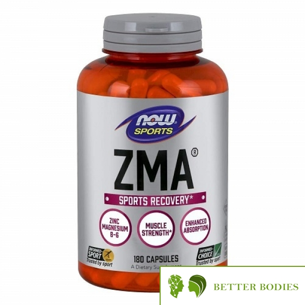 NOW ZMA Sports Recovery, 180 капсули